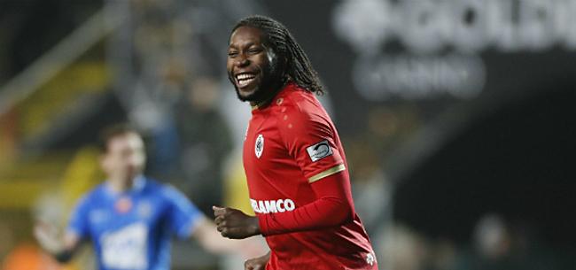 Foto: Mbokani knalt Antwerp eigenhandig voorbij AA Gent in top zes