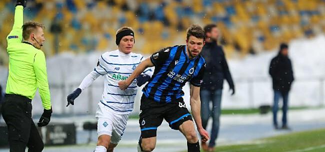 Foto: Goed nieuws voor Club: Kiev sputtert in eigen competitie