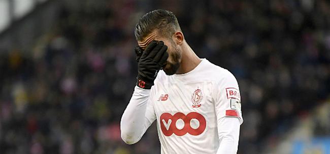 Foto: Standard zonder vier topspelers tegen Anderlecht?