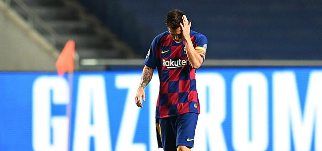 Foto: 'Journalist onthult: Messi ruilt Barça in voor deze club'