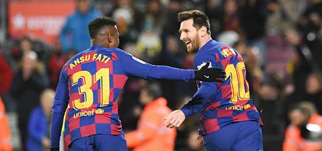 Foto: Barça stoomt door na simpele zege tegen hekkensluiter