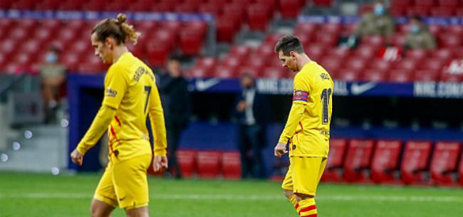 Foto: Griezmann speelt open kaart over situatie met Messi
