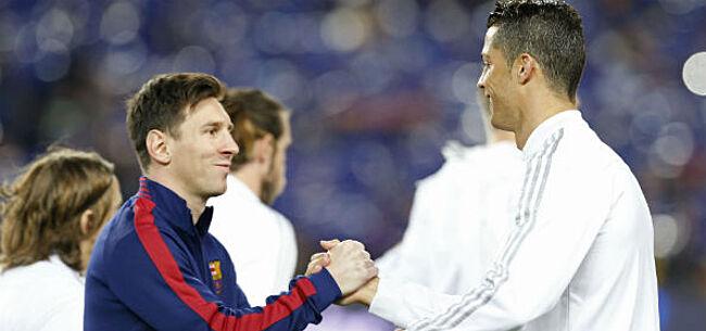 Foto: Pelé maakt zijn keuze tussen Messi en Ronaldo