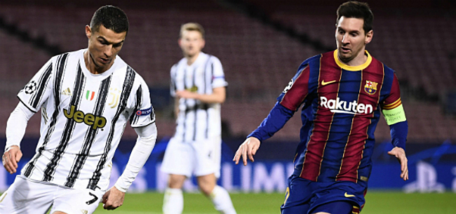 Foto: Barça liet Cristiano Ronaldo om één man links liggen