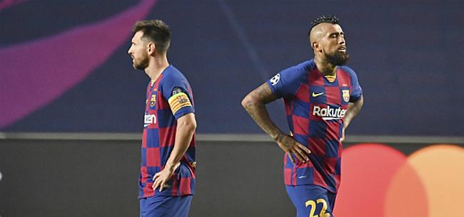 Foto: Volgend relletje bij Barça: Vidal haalt hard uit