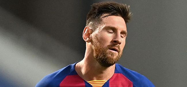 Foto: 'Directe oorzaken gekend voor vertrek Messi'