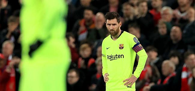 Foto: 'Transfersoap ontspoort: Messi overweegt drastische actie'