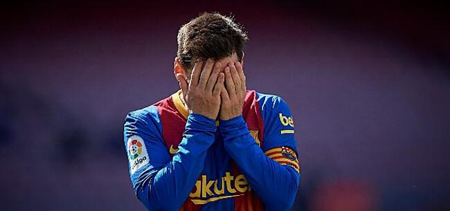 Foto: 'Gigantisch drama dreigt voor Messi en Barcelona'