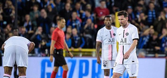 Foto: PSG afgemaakt na slipper in Brugge:
