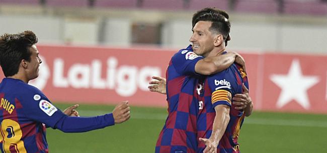 Foto: Bartomeu schept duidelijkheid over toekomst van Messi