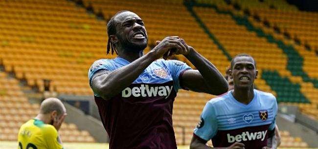 Foto: Eerste PL-degradant bekend na vier goals Antonio