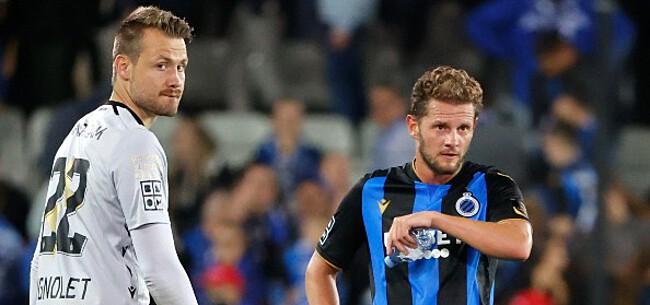 Foto: Zware frustraties bij Club Brugge: