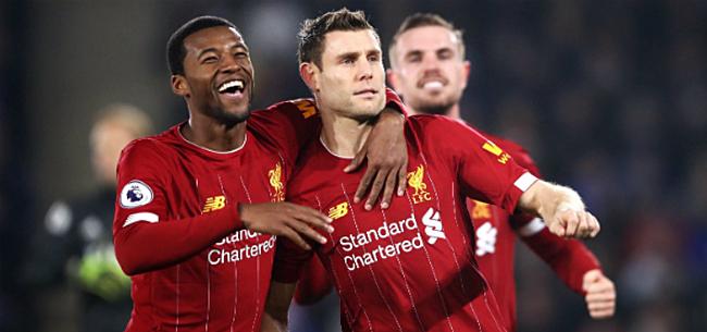 Foto: 'Wijnaldum dreigt Liverpool alsnog te verlaten'