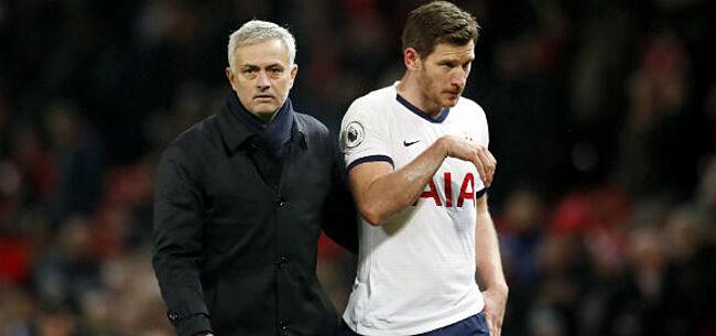 Foto: 'Mourinho brengt Vertonghen in lastig parket bij Spurs'