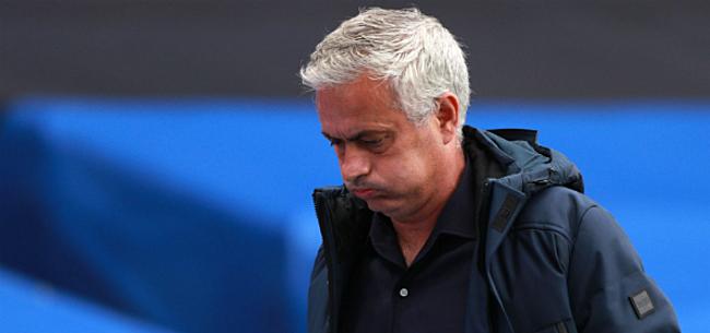 Foto: Mourinho kraakt eigen ploeg na pijnlijke seizoensstart