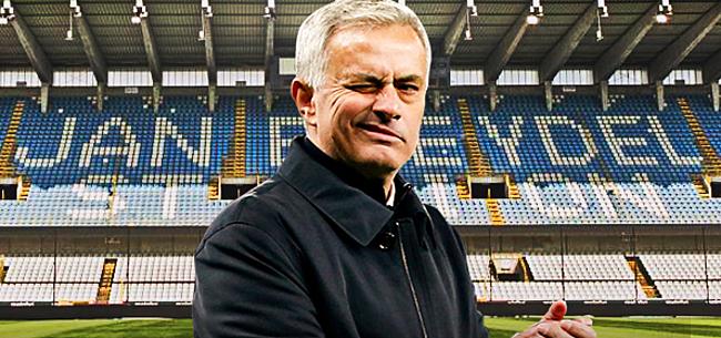 Foto: Club Brugge bezorgt Mourinho enorme domper