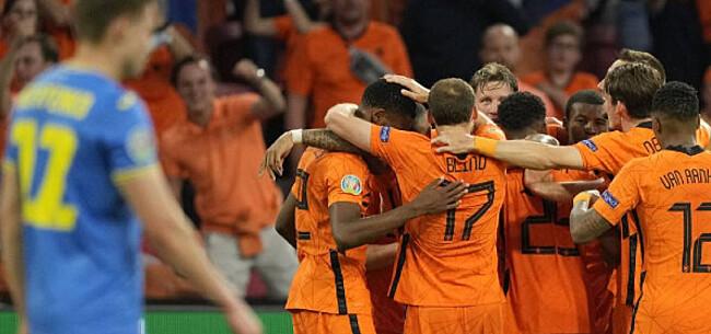 Foto: Oranje bibbert na weggeven dubbele voorsprong maar pakt verdiend eerste zege