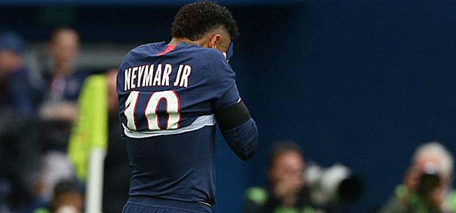 Foto: 'Neymar lijkt terugkeer naar Barcelona zelf te saboteren'