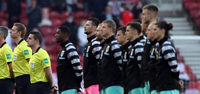 Foto: Oostenrijk furieus op UEFA: