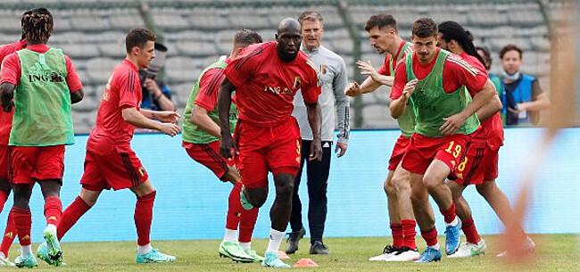Foto: België versus Kroatië: Lukaku en De Bruyne op eenzame hoogte