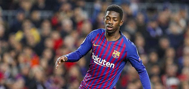 Foto: 'Barça is het beu en laat Dembélé aan soldenprijs gaan'