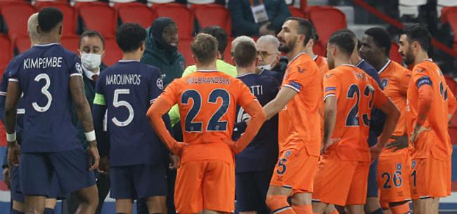 Foto: 'Vierde ref riskeert megaschorsing na racismerel PSG-Basaksehir'