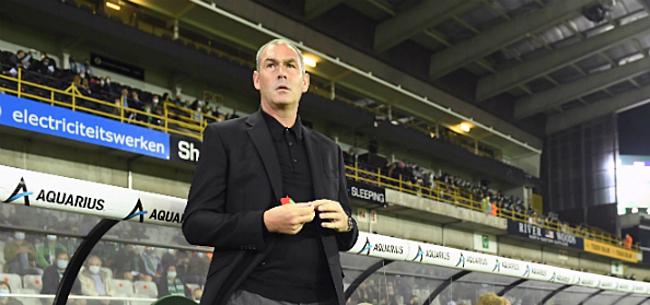 Foto: Clement duidelijk over 'vlagplanting' bij Brugse derby