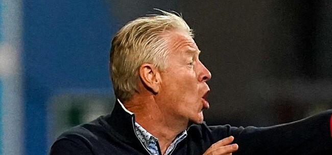 Foto: Beerschot spreekt zich uit over mogelijk ontslag Maes