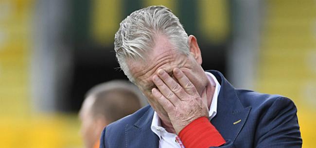 Foto: Overmeire bevestigt ontslag van Maes: