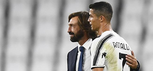 Foto: Ronaldo redt nog een punt voor tienkoppig Juventus