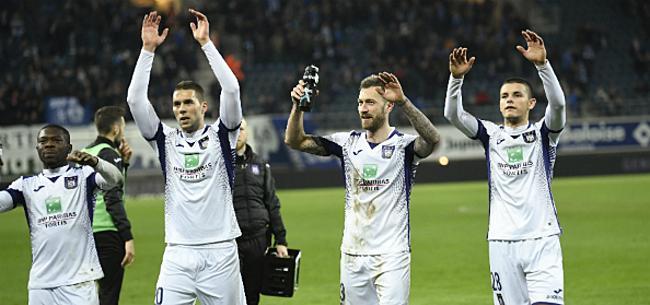 Foto: Anderlecht schuift lastig transferdossier voor zich uit
