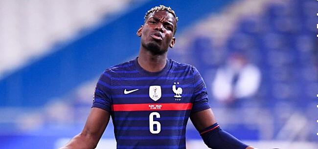 Foto: Pogba reageert laconiek op rel in Franse ploeg