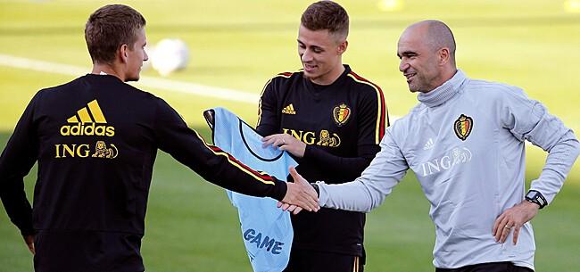 Foto: Martinez verneemt belangrijk nieuws over Praet & Hazard