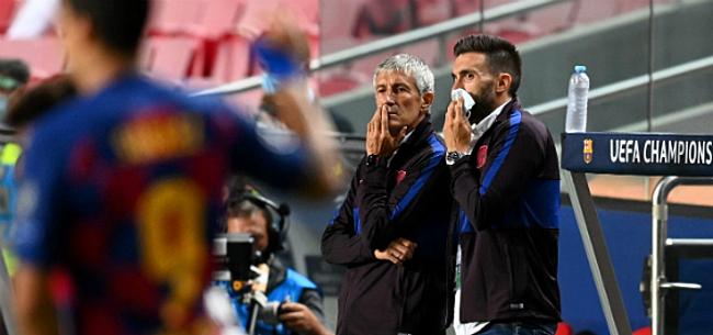Foto: 'Crisisberaad bij Barça: één topfavoriet als nieuwe trainer'