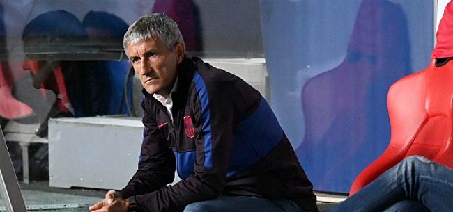 Foto: 'Barça zit niet stil: opvolger Setién al gespot in luchthaven'