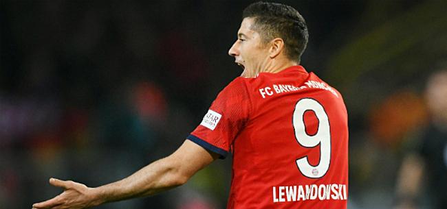 Foto: 'Bom ontploft bij Bayern: Lewandowski en ploegmaat op de vuist'