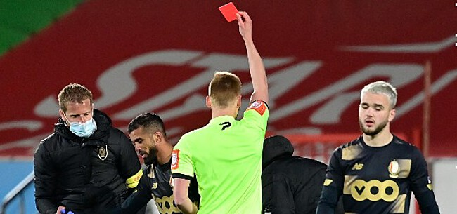 Foto: Referee Department velt oordeel over overtredingen Cullen en Carcela