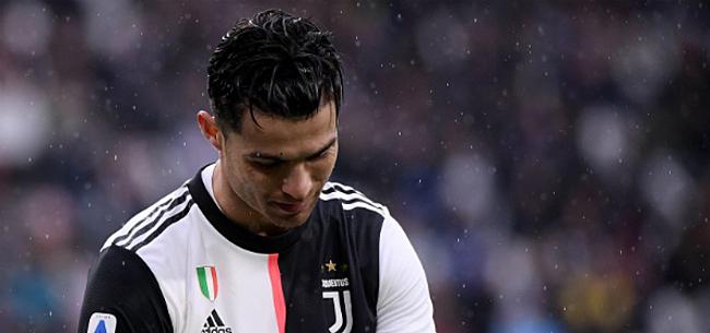 Foto: 'Cristiano Ronaldo dient Juventus zware opdoffer toe'