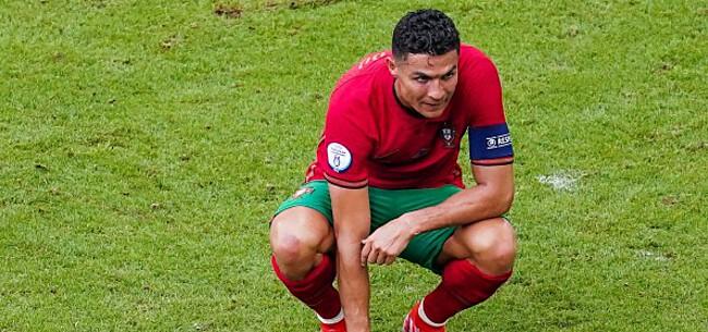 Foto: Ronaldo reageert na zware nederlaag Portugal