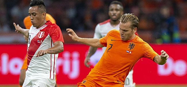Foto: Invaller Vormer kan niet voorkomen dat Nederland verliest in Frankrijk