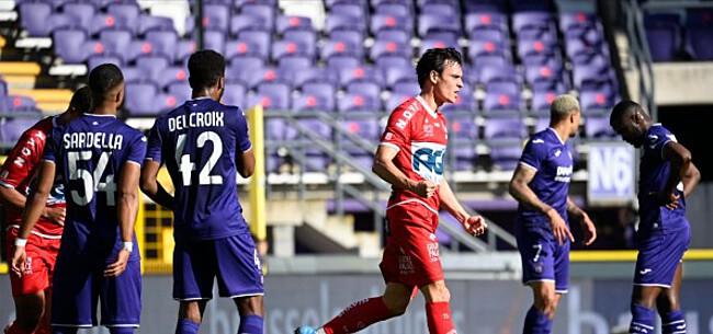 Foto: Titularis Anderlecht afgemaakt na wanprestatie