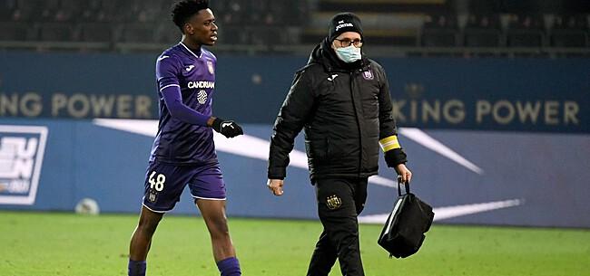 Foto: Anderlecht speelt gevaarlijk spelletje met Lokonga