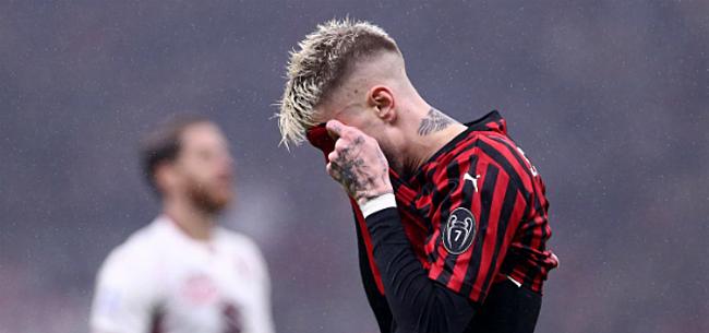 Foto: AC Milan maakt enorme blunder en staat straks weer op nul