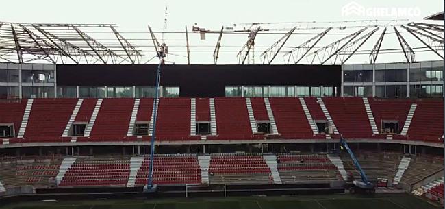 Foto: Antwerp mag hopen op Europees voetbal voor gloednieuwe tribune