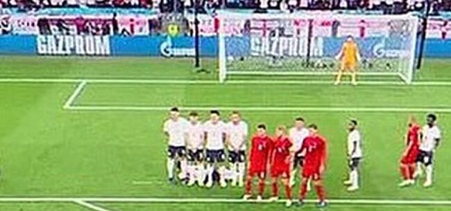 Foto: Ref Engeland-Denemarken maakte tweede cruciale fout