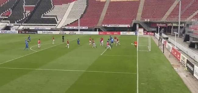 Foto: AA Gent boekt veelbelovend resultaat op veld AZ