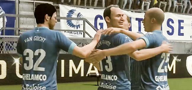 Foto: Marc Van Ranst grote held in virtuele corona-match AA Gent