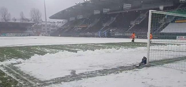 Foto: 'Ook KV Kortrijk tekent voorbehoud aan bij wedstrijd'