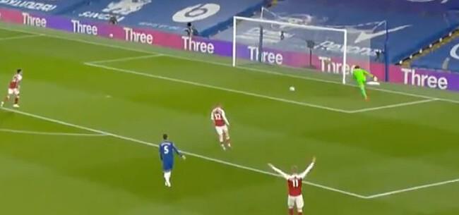 Foto: Arsenal klopt Chelsea na gigantische blunder