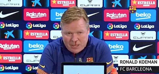 Foto: 'Barça heeft knoop over toekomst Koeman doorgehakt'